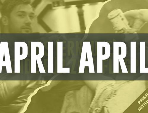 ….es war nur ein Aprilscherz!