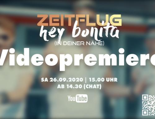 """Videopremiere zu """"Hey Bonita (In deiner Nähe)"""""""